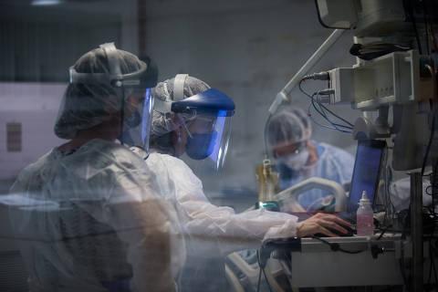 Com pacientes longe das UTIs no interior, epidemia deve matar mais