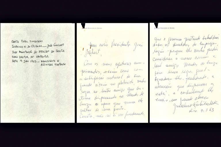 'A Memória e o Guardião' revela cartas inéditas recebidas por Jango
