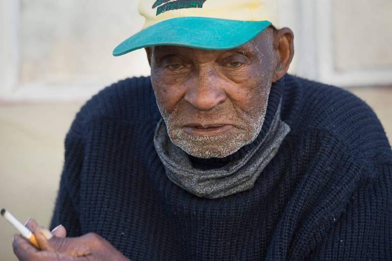 Fredie Blom, o sul-africano que completou 116 anos nesta sexta (8)