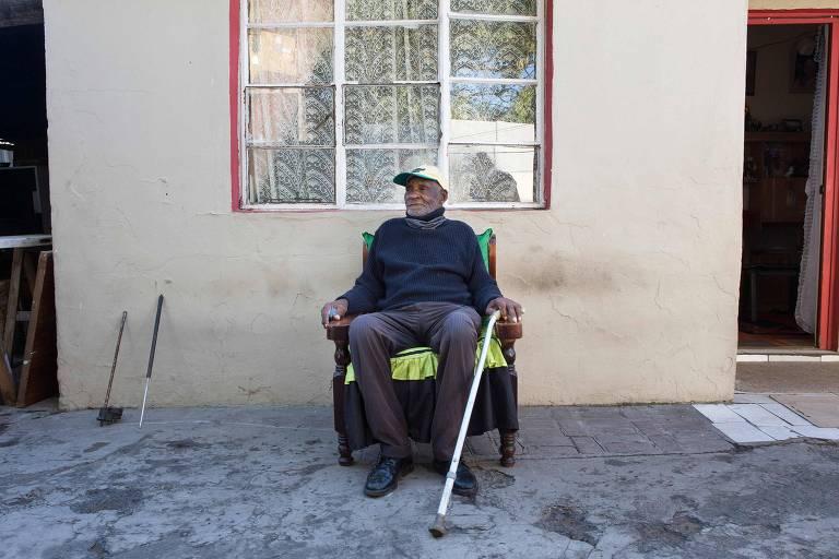 Sul-africano Fredie Blom compelta 116 anos durante a pandemia do novo coronavírus. Ele já viveu outra pandemia, a da gripe espanhola, em 1918, quando perdeu a irmã
