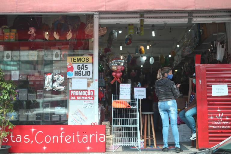 Interdições de comércio no centro superam as da periferia em São Paulo