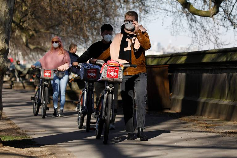 Reino Unido vai investir R$ 13 bi para incentivar ciclismo e caminhadas