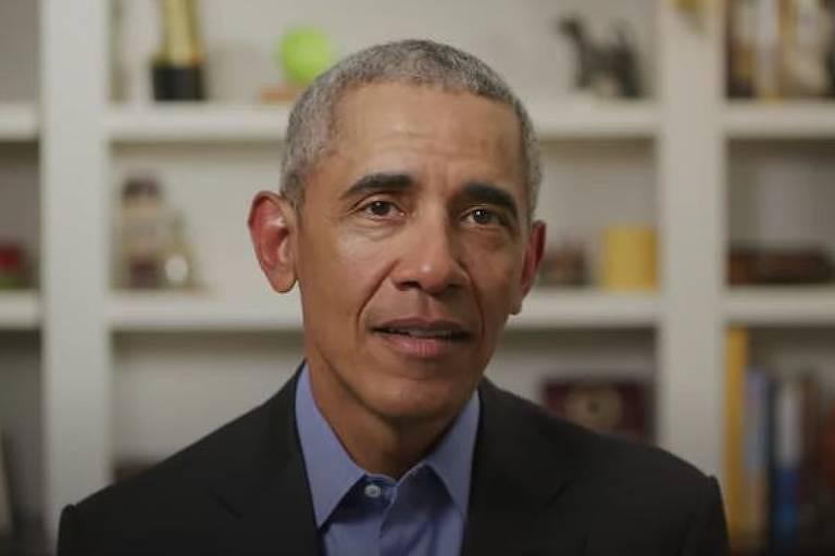 retrato do presidente barack obama