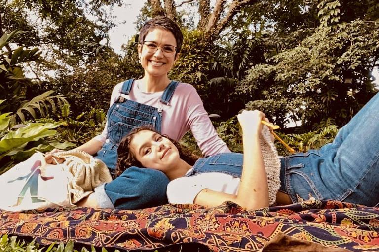 Sandra Annenberg e Elisa Annenberg Paglia, sua filha