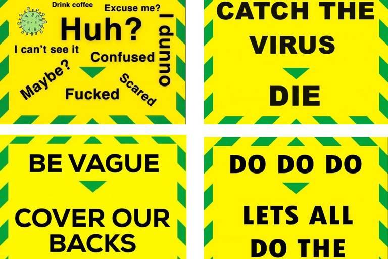 Britânicos criticam novo slogan de Boris Johnson contra o coronavírus
