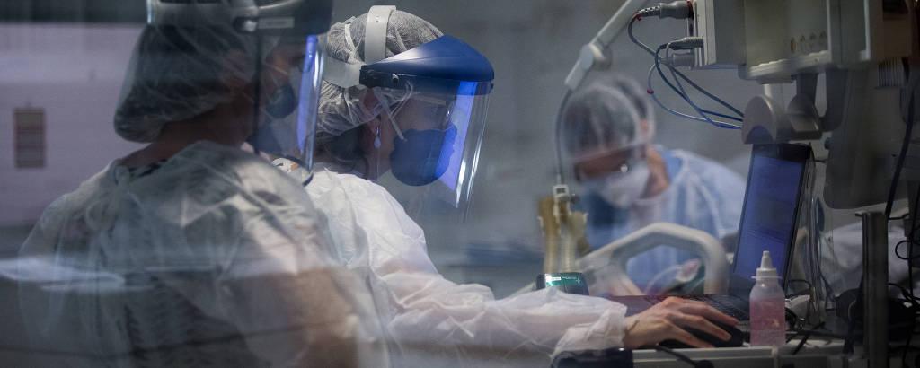 Em UTI paulistana, pacientes graves 'caçam ar' para sobreviver à ...