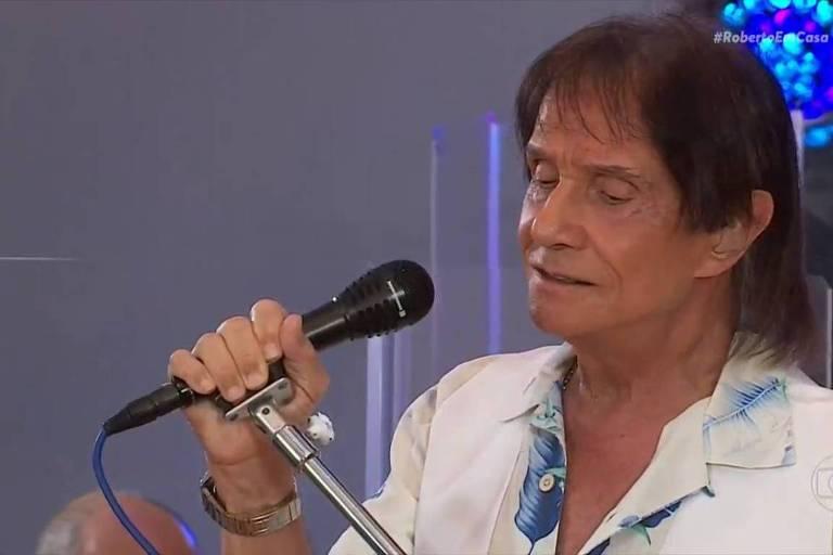 Live de Roberto Carlos neste Dia das Mães