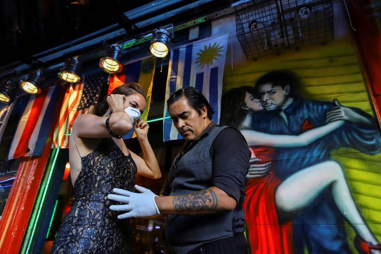 Tango argentino na pandemia