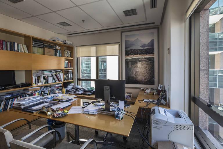 Escritórios da Faria Lima ficam vazios na quarentena
