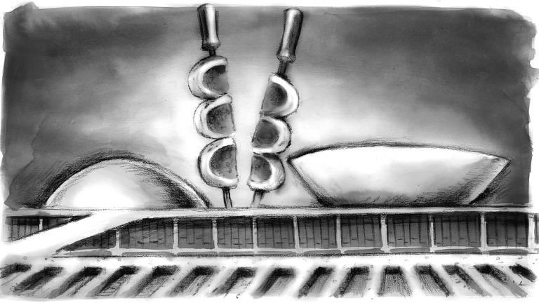 Ilustração para a coluna de Luiz Felipe Pondé da edição de 11.mai