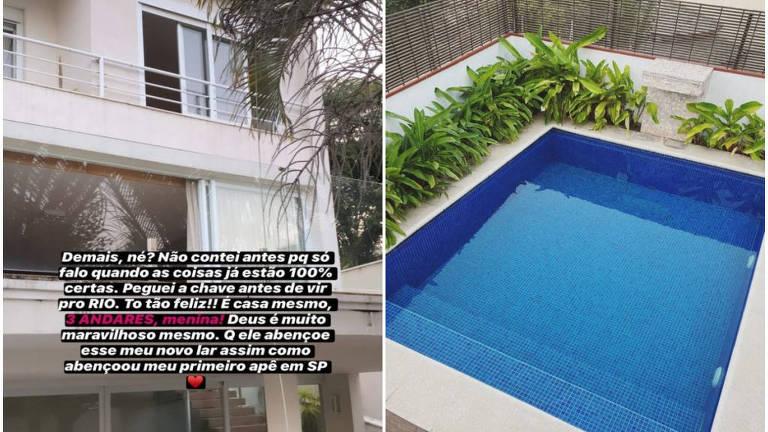 Nova casa de Bianca Andrade