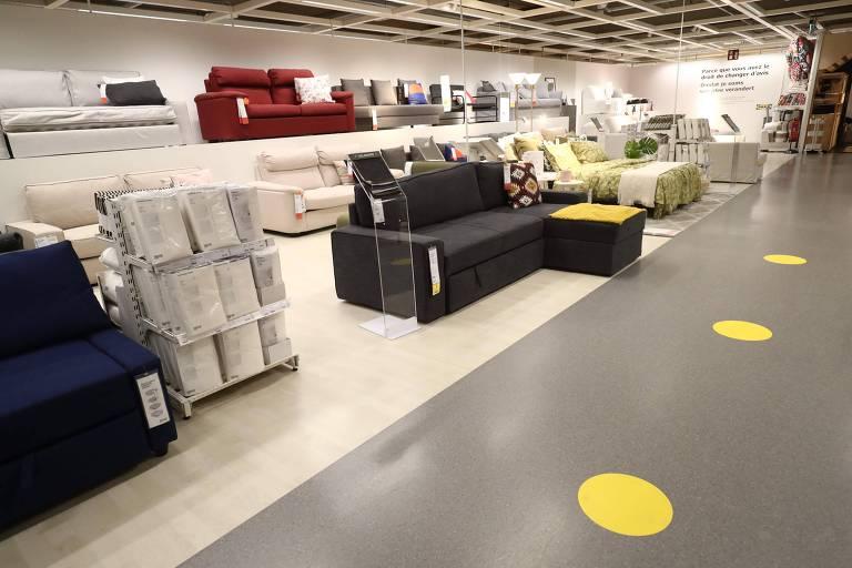 Loja IKEA em Bruxelas