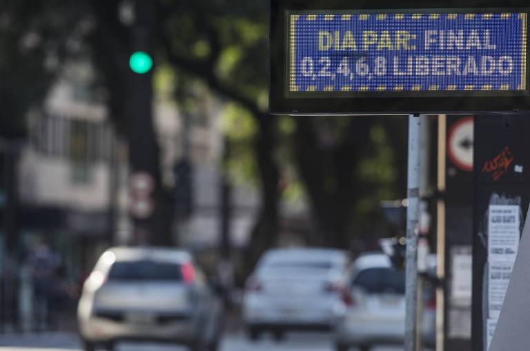 Rodízio de veículos em SP está suspenso nesta terça (24) por causa da greve na CPTM