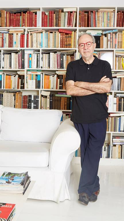 O jornalista e crítico de cinema Sérgio Augusto
