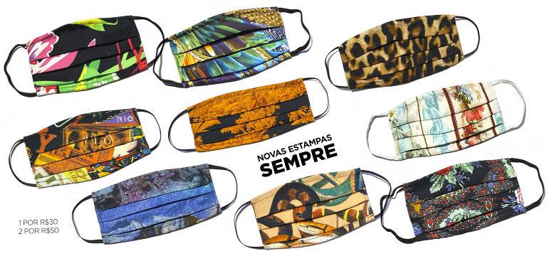Grife carioca The Paradise cria estampas com sarja e tricoline