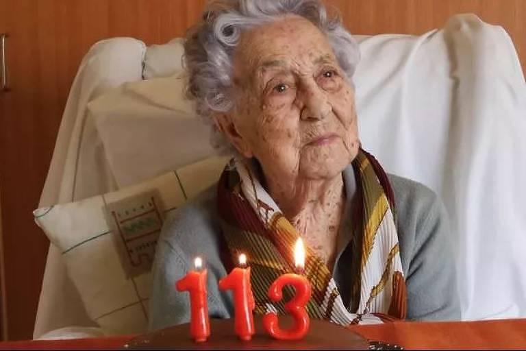 Maria Branyas, 113, superou o coronavírus