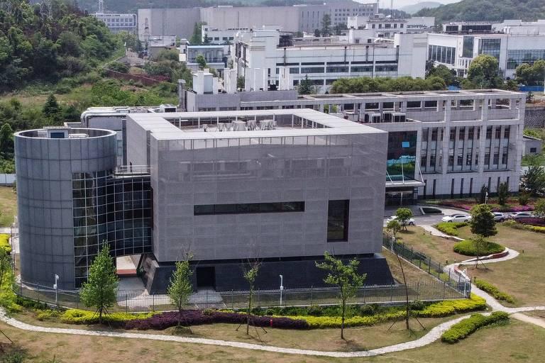 Vista do Instituto de Virologia de Wuhan, na província de Hubei, região central da China