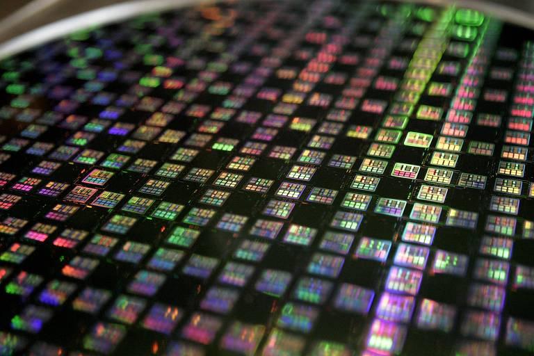 Chips produzidos pela TSMC, maior fabricante mundial de semicondutores