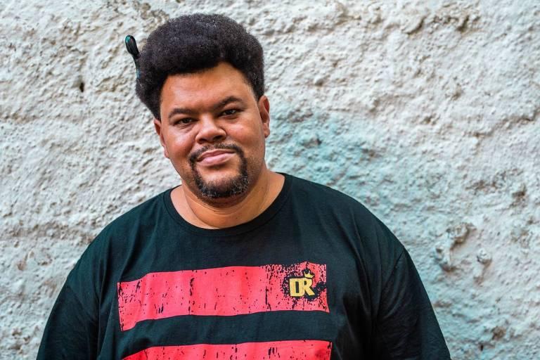 Ator e cantor Babu Santana