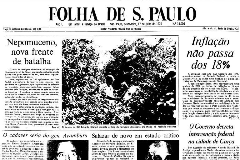 1970: Mudança da capital da região italiana da Calábria gera revolta