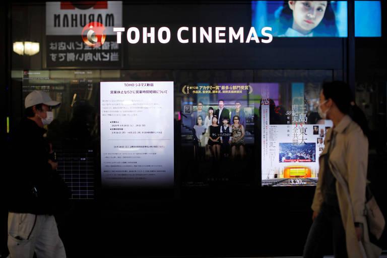 Japão e Coreia do Sul testam meios de retomar a atividade das salas de cinema