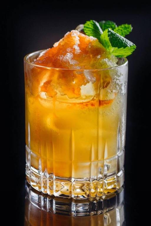 O drinque Serra Grande, do bartender Zulu