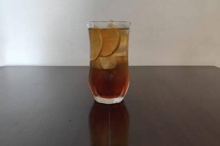 Citric&Tonic, drinque criado por Por Michelly Rossi, do Grupo Tokyo