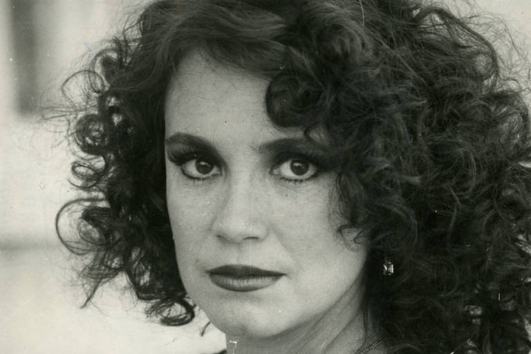 """Regina Duarte como Viúva Porcina, de """"Roque Santeiro"""""""