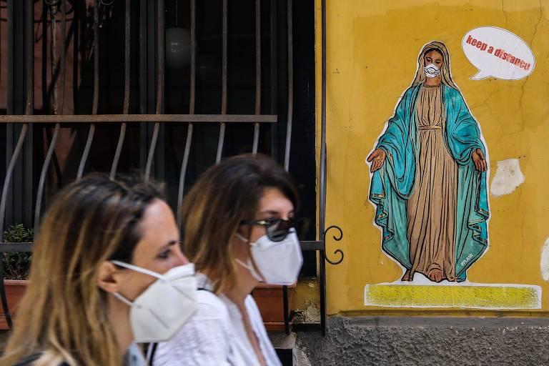 Denúncias de violência doméstica voltam a subir e crescem 73% na Itália