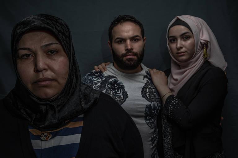 Sírio reencontra mãe e irmã no Brasil