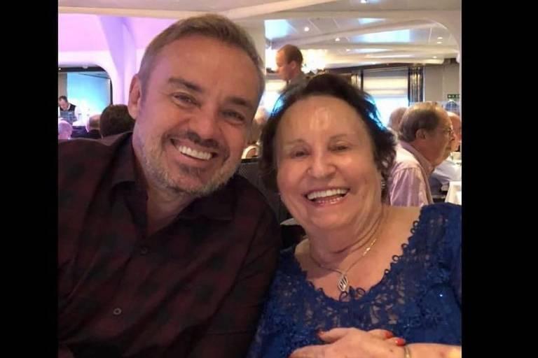 Mãe de Gugu completa 91 anos e ganha homenagem nas redes sociais do apresentador