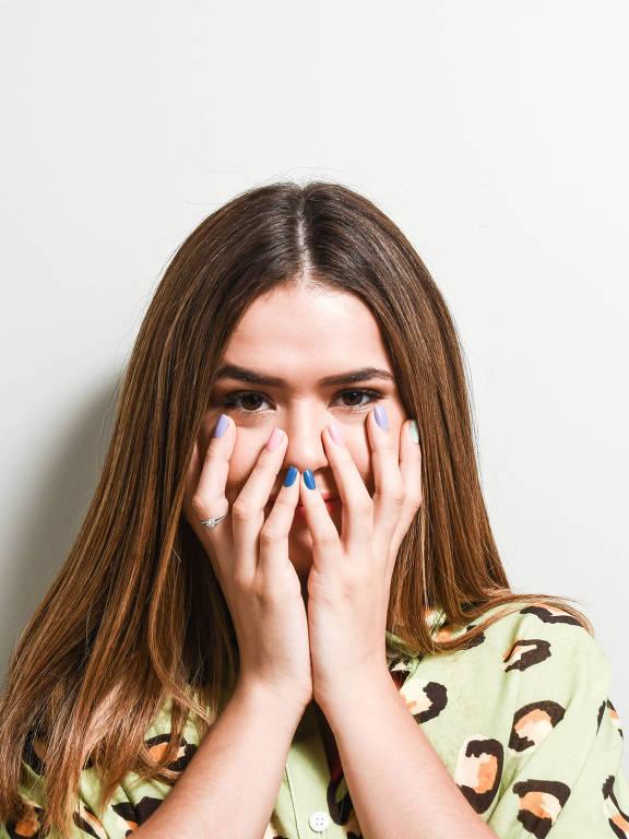Imagens da apresentadora e atriz Maísa Silva