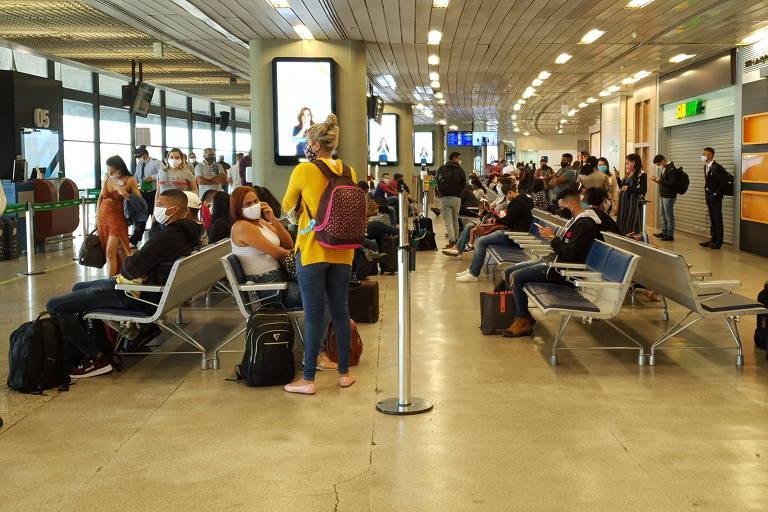 Viajando de avião durante a pandemia