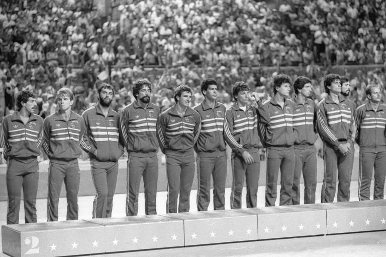 As medalhas olímpicas de Bernardinho