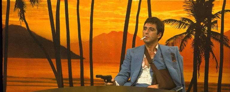 """Cena de """"Scarface"""""""