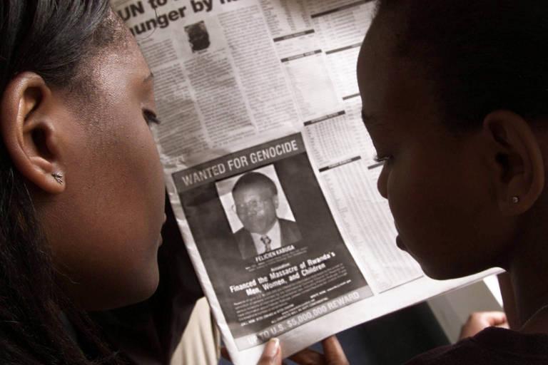 Polícia francesa prende suspeito de financiar genocídio de Ruanda