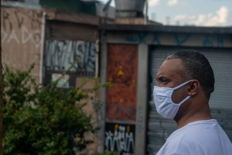Uso de máscaras na periferia de São Paulo