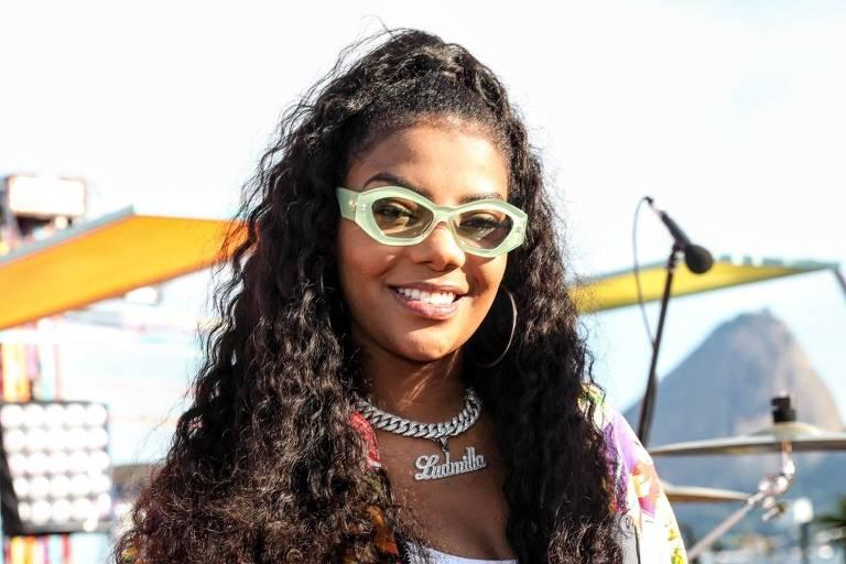 Ludmilla, apresentadora do Só Toca Top Verão (Globo)