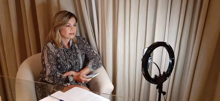 Noemia Porto,  juíza do trabalho e presidente da Anamatra (Associação Nacional dos Magistrados da Justiça do Trabalho)