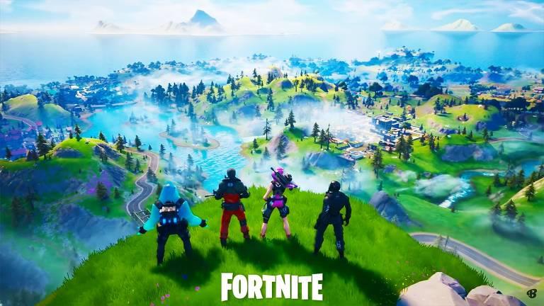 Imagem do jogo Fortnite