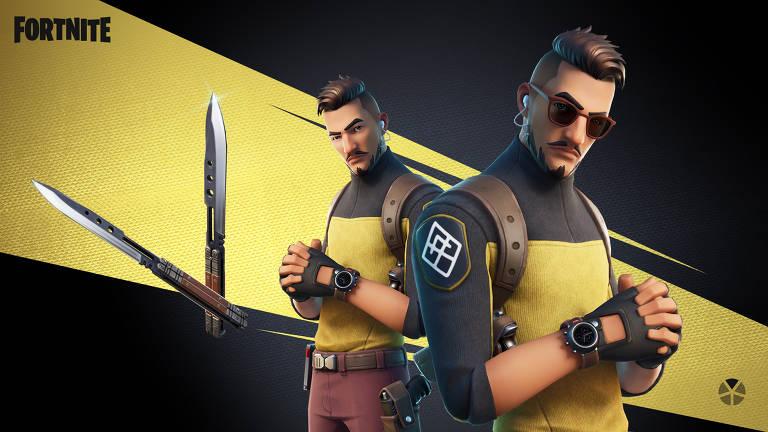 Imagens do game Fortnite