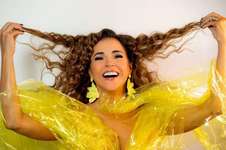 Daniela Mercury faz live nesta semana