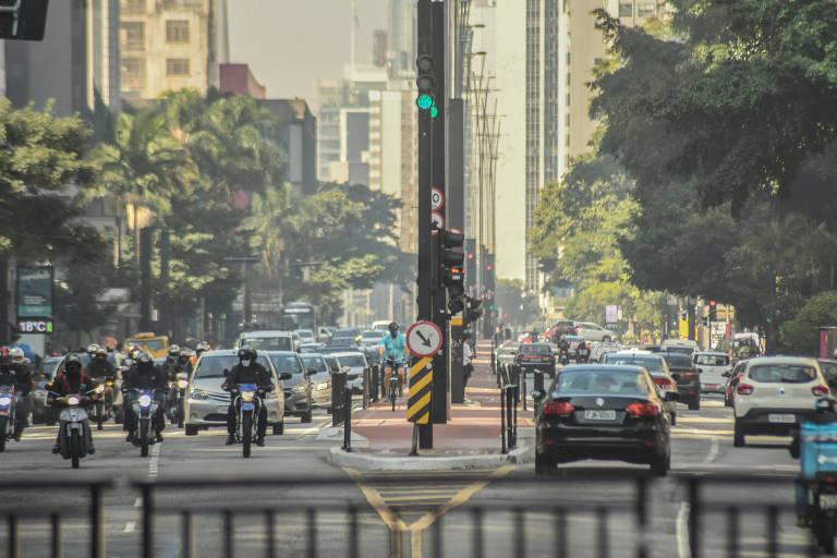 Trânsito de São Paulo na volta do rodízio tradicional