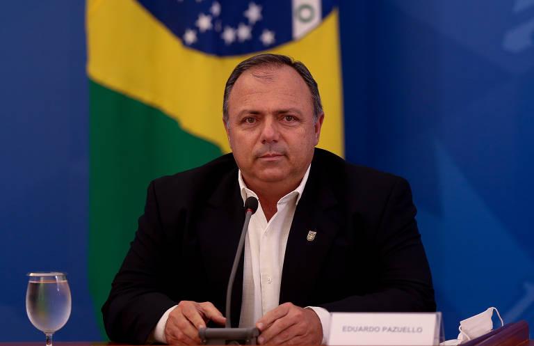 O ministro da Saúde interino, general Eduardo Pazuello, nomeou nove militares para cargos dentro na pasta