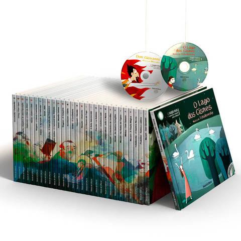 Coleção Folha - Concertos e Óperas para crianças