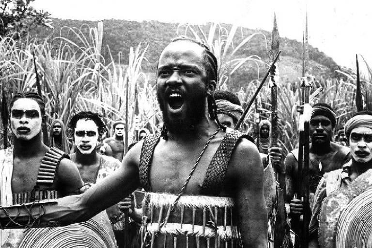 """Cena do filme """"Quilombo"""", de 1984, do diretor Cacá Diegues."""