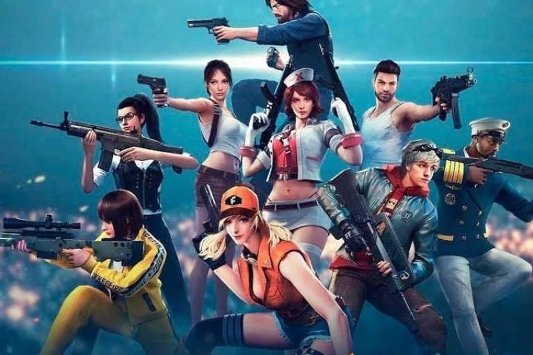 Foto divulgação do game Free Fire