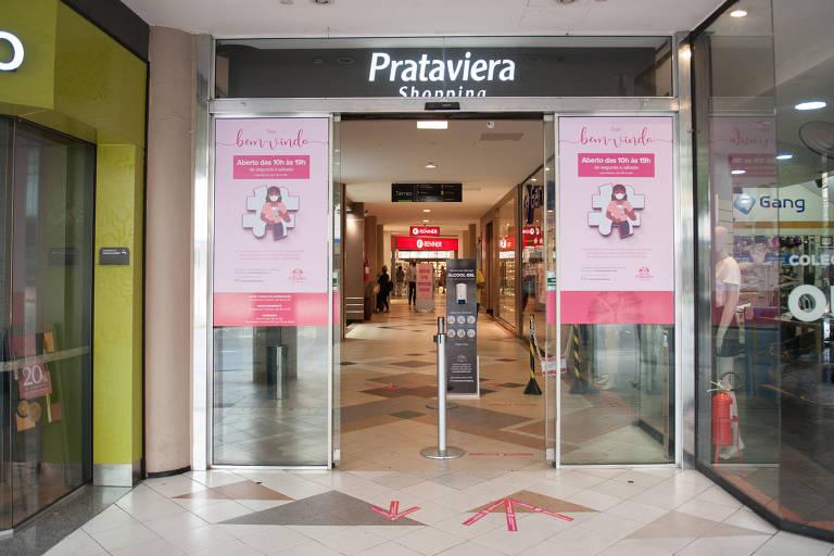Prataviera Shopping, em Caxias do Sul, reabriu em 22 de abril