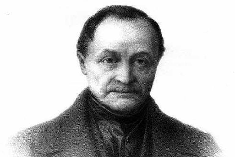 O filósofo Auguste Comte