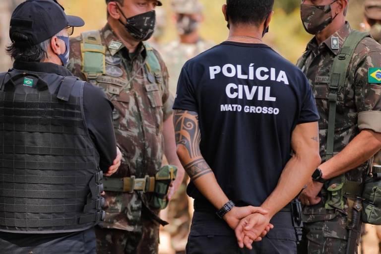 Operação Verde Brasil 2, no Mato Grosso, mobilizou 97 agentes e fez somente vistorias